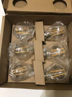 AmazonBasics 60 Watt Equivalent,  Clear, Dimmable, A19 LED L