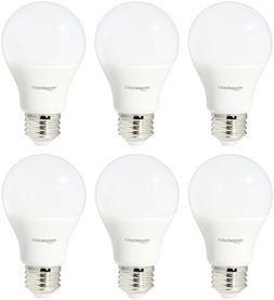 AmazonBasics 40 Watt Equivalent, Daylight, Dimmable, A19 LED