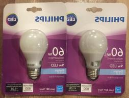 Philips 60w Equivalent Daylight Dimmable A19 Led Light Bulb