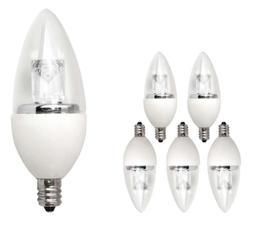 TCP 25W Equivalent LED Decorative Torpedo Light Bulbs Small