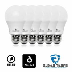 6 Smart Bulb LED Dimmable Light Bulbs 4000K Cool White Light