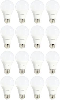 AmazonBasics 60 Watt Equivalent, Soft White, Non-Dimmable, A
