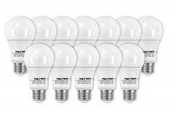 New 75 Watt Equivalent SlimStyle A19 LED Light Bulb 2700K 12