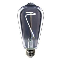 Feit 40-Watt Equivalent ST19 Dimmable LED Smoke Vintage Styl