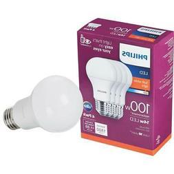 Philips EyeComfort 100W Equivalent Soft White A19 Medium LED