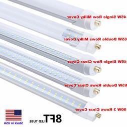 90W 65W 45W 8FT FA8 Single Pin LED Tube T12 T10 T8 LED Shop