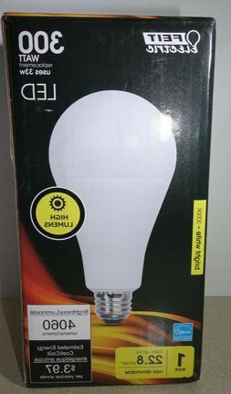 FEIT 300W 300 Watt A23 Bright High 3050 Lumens Extra Bright