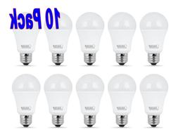 FEIT 9w LED Light Bulbs, 60w Equivalent, 800 Lumens Natural