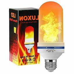 LED Flame Effect Light Bulb 5W 1300K Flame LED Bulbs with Up