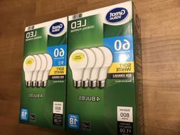 Flash Sale Great Value LED BULBS 2 PACKS  60W EQ  9W Non-Dim
