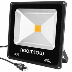 Warmoon 30W LED Flood Light Daylight White,150W Halogen Bulb