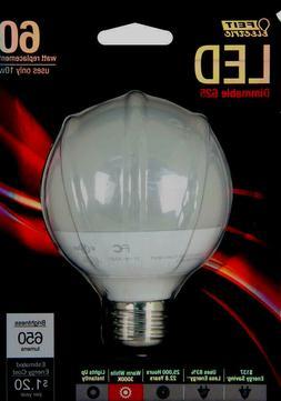 Feit G25/650/LEDG2 60W Equivalent G25 Frost Medium Base LED