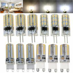 G4 G9 Silicone Crystal LED Corn Light Bulb 3W 5W 6W 10W 3014