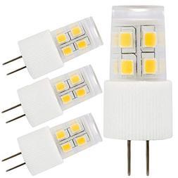 3-Pack 2W G4 LED Light Bulb, 20W Halogen Bulb Equivalent, AC