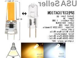 G8 2 Pin 7 Watt LED Oven Microwave Light Bulb Lamp 120vac Re