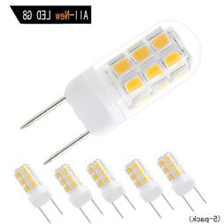 All New LED G8 Light Bulb, G8 GY8.6 Bi-pin Base LED, Dimmabl