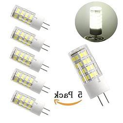 G8 led light bulb 4W 120V Dimmable, G8 Bi-pin Base, Daylight