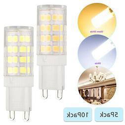 G9 4W Equivalent Halogen LED Bulbs 6000K 5W 2835 40-SMD Dayl