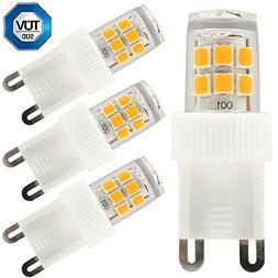 3-Pack 110V 2.5W G9 LED Bulb, 30W Equivalent 2700K Warm Whit