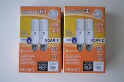 GE LED Bright Stik Soft White 40w Replacement Uses 5.5w