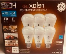 GE Relax High Definition LED Light Bulb 10.5-watt 2700K Comf