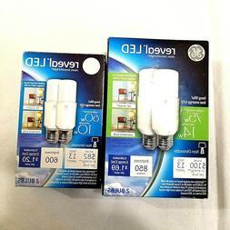 GE Reveal LED Bright Stik Light Bulb  with Medium Base