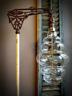 Grand Nostalgic Edison Light Bulb - Oversized Beehive Shape,