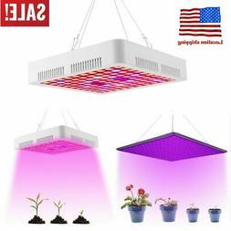 Graphen 1200W LED Grow Light Full Spectrum Bloom Switch Hydr
