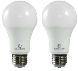 Great Eagle 3-way A19 40/60/100W Replacement LED Bulb 2700K/