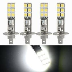 H1 COB LED 4Pcs Car Foglight Beam CREE DRL Driving Light Bul