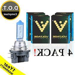 Voltage Automotive H11B Headlight Bulb Polarize White Replac