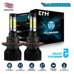 H13 9008 2500W 375000LM CREE LED Headlight bulb Kit Lamp Bul