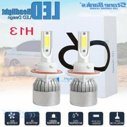 H13 9008 COB LED 100W 20000LM Headlight Conversion Kit H/L B
