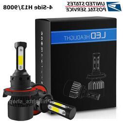 H13 9008 LED Headlight CREE bulb Kit Lamp Bulbs Hi/Lo 2500W