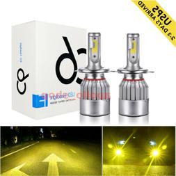 H4 LED Headlight 9003 HB2 High Low Power Lights Conversion K