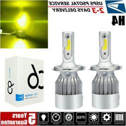 HB2 H4 9003 LED High-Low Beam Headlight Lights Conversion Ki