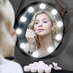 Hollywood Style LED Vanity Mirror Lights Kit for Makeup with