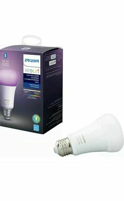 Philips Hue 548487 White & Color Ambiance A19 LED Smart Bulb