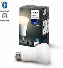 Philips Hue White A19 Dimmable LED Smart Bulb w/ Bluetooth,