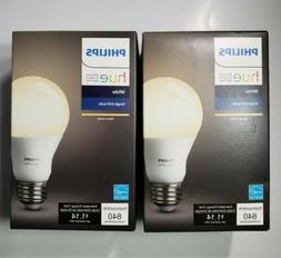Philips Hue White A19 60W Equivalent Single LED Light Bulb,