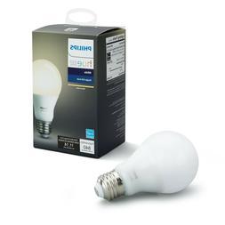 Philips Hue White A19 Smart Light Bulb, 60W LED, 1-Pack NEW