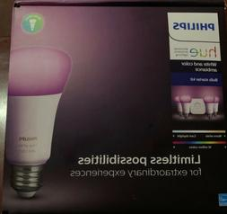 hue white and color ambiance e26 bulb