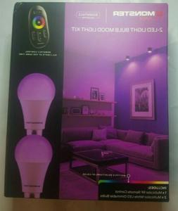 Monster Illuminessence 2-LED Light Bulb Mood Light Kit Multi