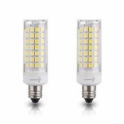 LumenBasic JDE11 LED E11 Bulb 50w Equivalent Daylight White