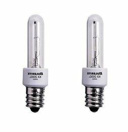 Bulbrite KX60CL/E12 60W KX-2000 Krypton/Xenon T3 Clear Bulb,
