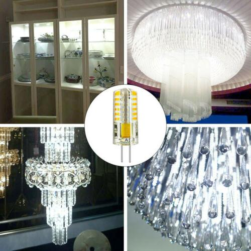 1/4/6/10x G4 Bi-Pin LED Light Bulb 3W SMD AC/DC12V AC110V