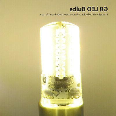 10pcs Bulb Lamp 3014 Cabinet Lighting Warm 120V