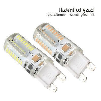 10 Pack LED Warm/Daylight White LED Bulb Lamp AC US