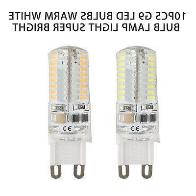 10 Warm/Daylight White LED Corn Bulb AC Shipping