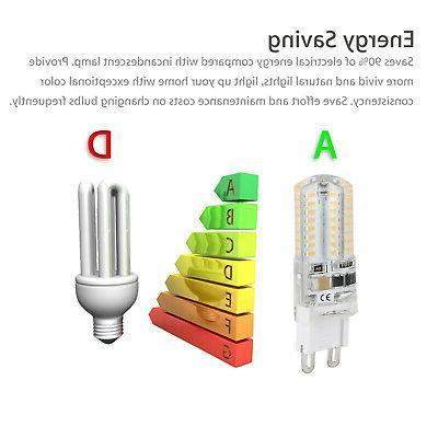 10 Pack Warm/Daylight White Bulb Lamp Light 120V AC
